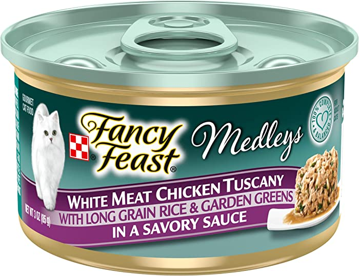 Top 10 Fancy Feast Cat Food Chicken Medleys