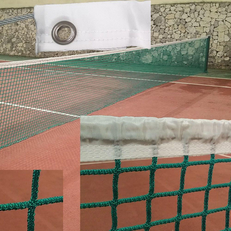 Redes Deportivas On Line Red de Tenis sin Nudos 3 mm de diá metro. Color Verde