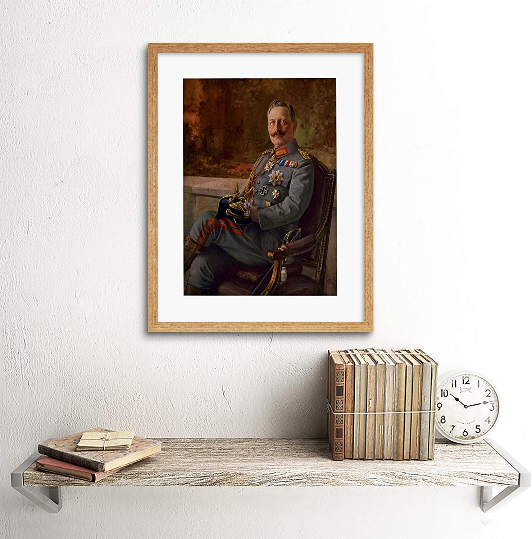 PAINTINGS KAISER WILHELM II GERMAN EMPEROR FRAMED ART PRINT PICTURE F12X780