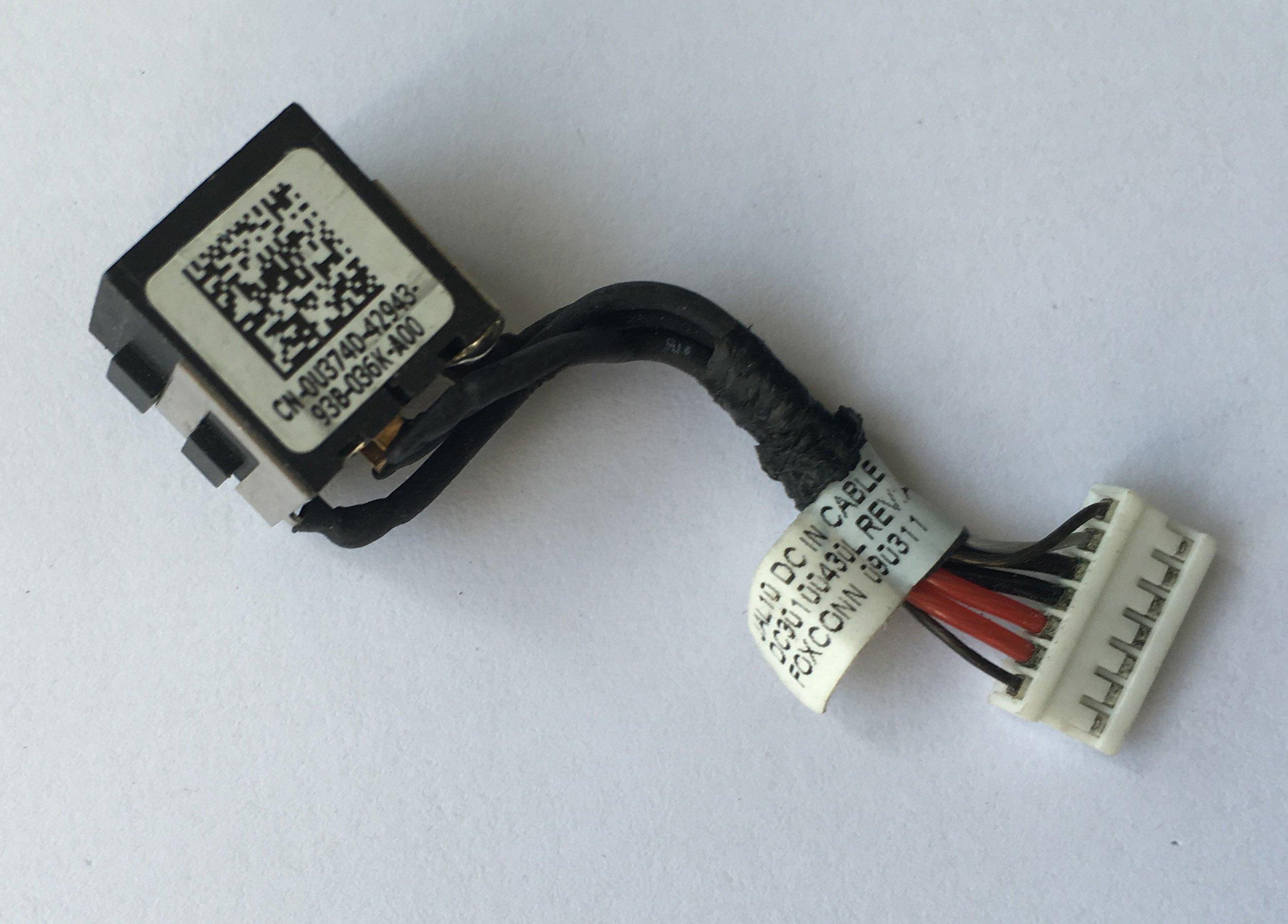 DC Power Jack para Dell Latitude E4310 G72VP Power Jack Harn