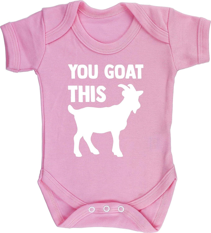 Boys Girls Short Sleeve Hippowarehouse You Goat This Baby Vest Bodysuit