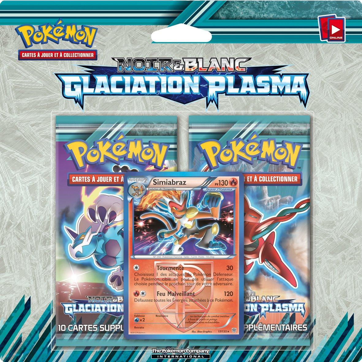 Pokemon 2pack01bw9 Jeu De Cartes à Jouer Et à Collectionner Duo Pack Noir Et Blanc