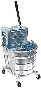 Impact 2000/260 Metal Squeeze Wringer Combo Bucket, 26 qt Capacity