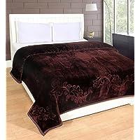 HOMECRUST Double Bed Polyester Mink Blanket