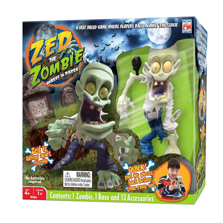Amazoncom Fotorama Zed The Zombie Unrest In Peace Game Set Toys - Minecraft spiele mit zombies