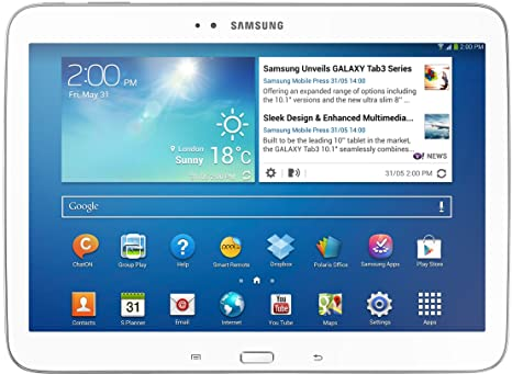 15c76c3c6337bc Samsung Galaxy Tab 3 25,7 cm (10,1 Pollici) Tablet (Intel Atom Z2560 ...