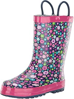 28a4d04f2453e Amazon.com   Western Chief Girls Waterproof Printed Rain Boot with ...