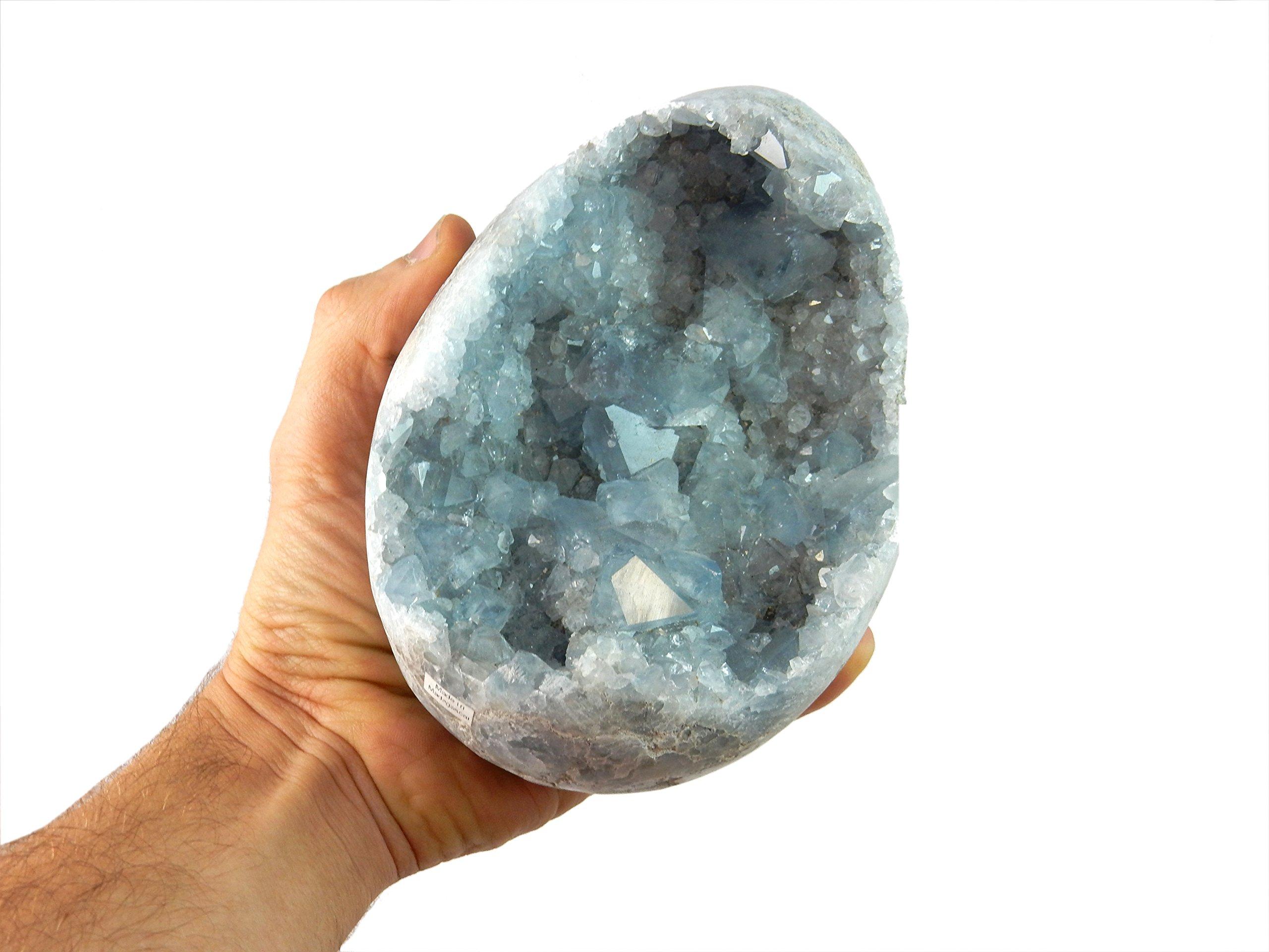 Beverly Oaks Blue Celestite Crystal ~ Celestite Stone for Meditation, Reiki and Crystal Healing