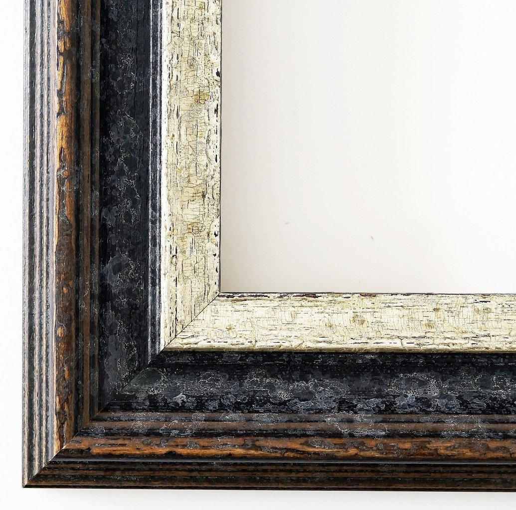 Bilderrahmen Trento Black Silver 5.4, Interchangeable Frame with ...