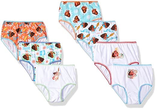 50e5661cbdb Amazon.com  Disney Girls  Incredibles 7-Pack Underwear Panties  Clothing