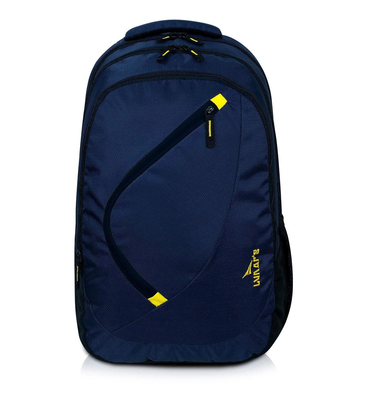 Lunar's 35L Water Resistant Casual Backpack, Anti - Theft Internal Organiser
