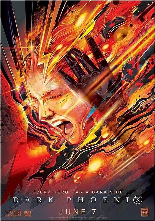 """3 Sizes Movie Poster 2019 X-Men /""""Dark Phoenix/"""""""