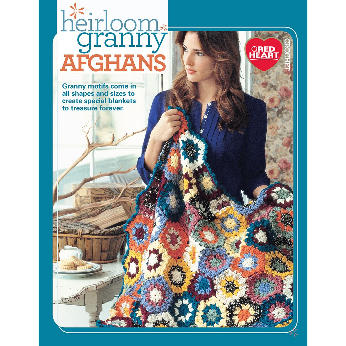 Soho Publishing Heirloom Granny Afghans Book