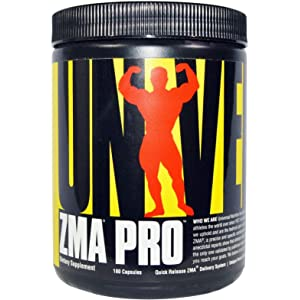 Universal Nutrition, ZMA Pro, 180 Capsules by Universal Nutrition