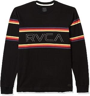 RVCA Mens Hi Grade Slub Crew Neck Shirt