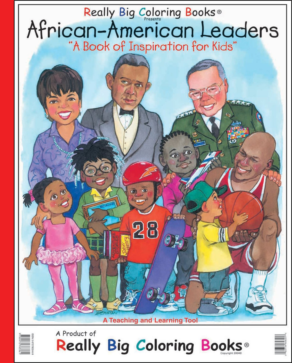 African American Leaders Giant Super Jumbo Coloring Book ...