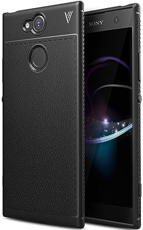 Funda Sony Xperia XA2, iBetter anti-rasca la Carcasa alta calidad TPU de la imitación ninguna Case del teléfono móvil caja del teléfono Cover para ...