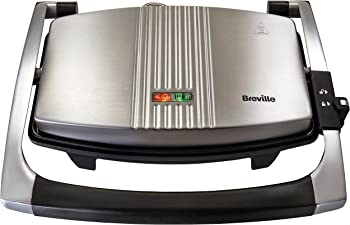 Breville Stainless Steel Sandwich Maker & Panini Press