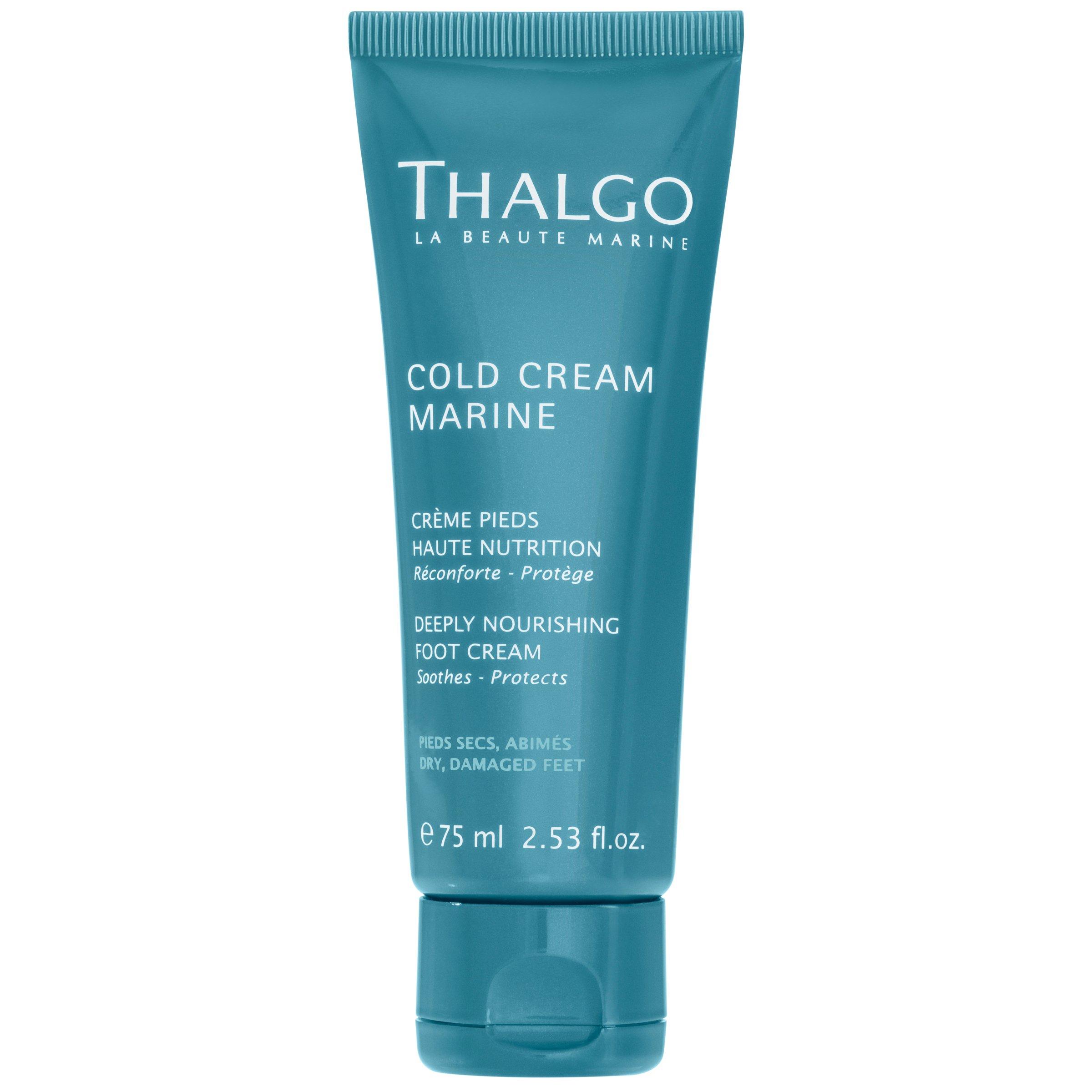 Thalgo Deeply Nourishing Foot Cream, 2.53605 Fluid Ounce