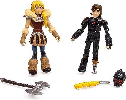 Dreamworks Cómo Entrenar A Tu Dragón 2 Figuras Viking Warriors Acción Astrid Y Hipo Toys Games