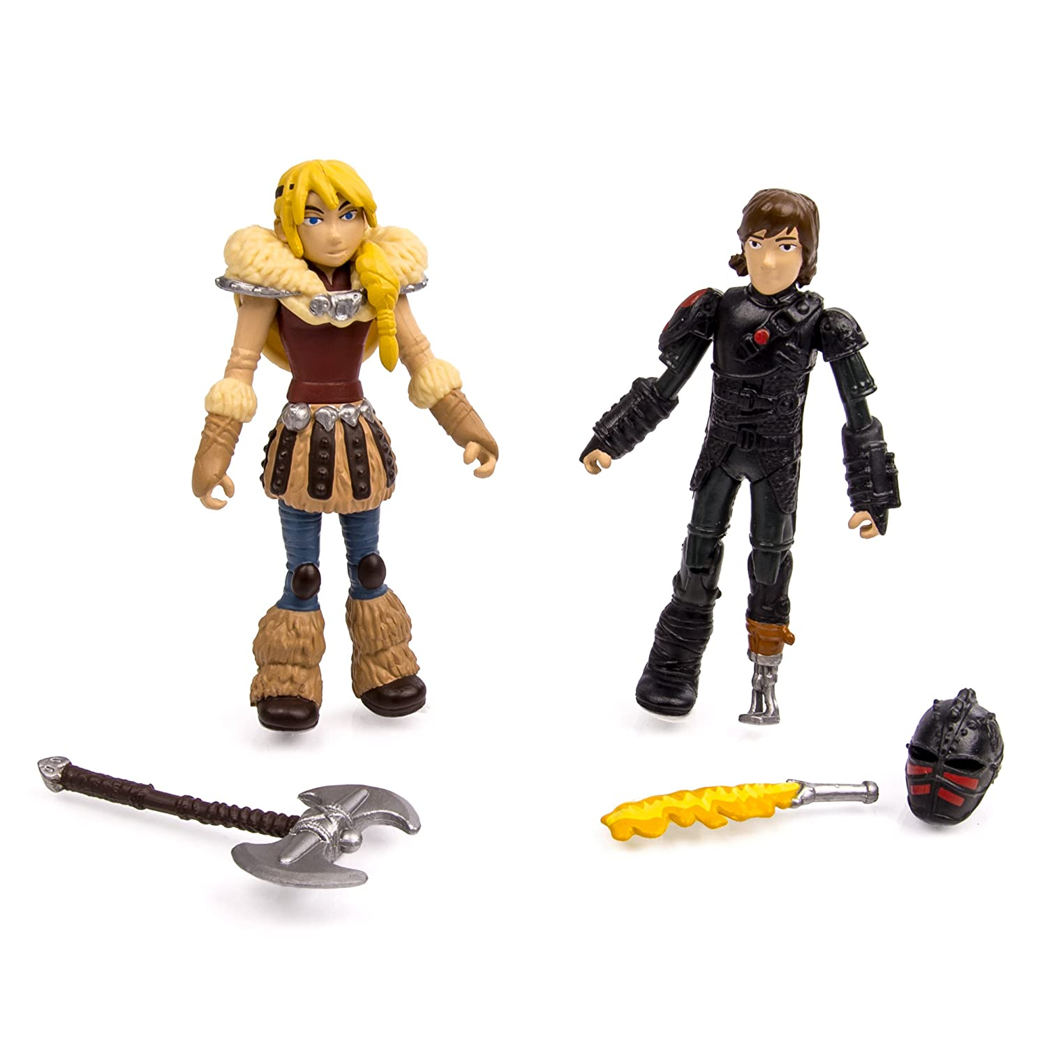 Dragons Dreamworks How How How To Train Your 2, Viking Warriors Action Figuren, Astrid Und Hiccup 547e78