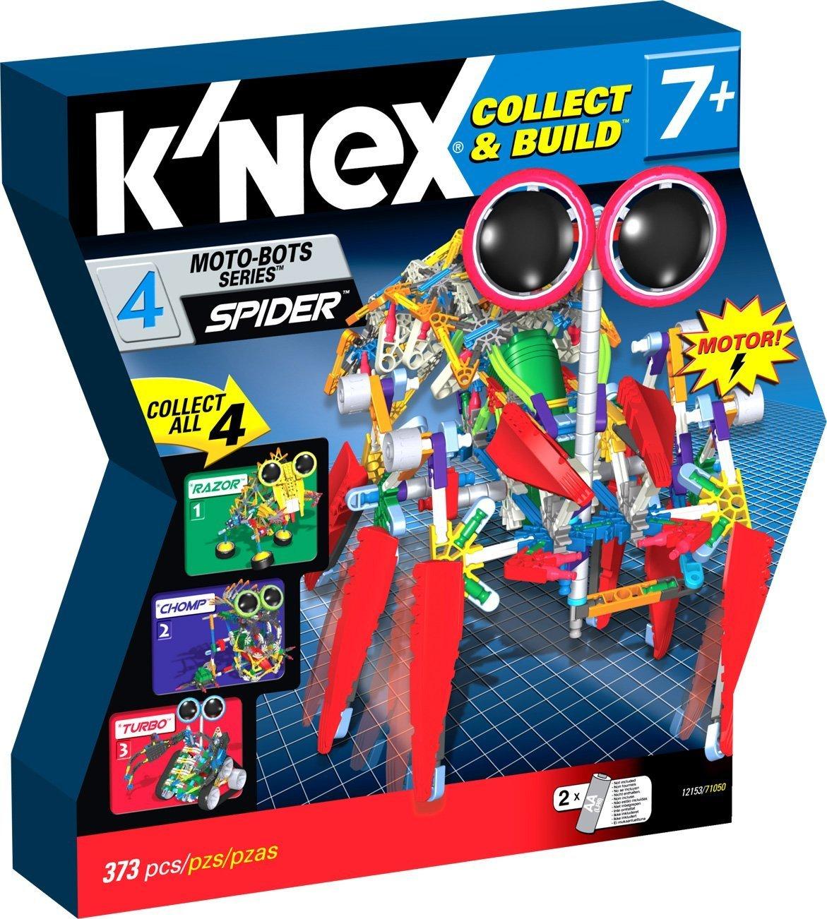 Tomy 71050 - K'nex 7+ - Moto-Bots >Spider Bot< (rot)
