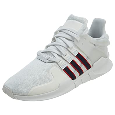 New Adidas Equipment Support ADV Men/'s Shoes Crystal White//Navy//Scarlet BB6778