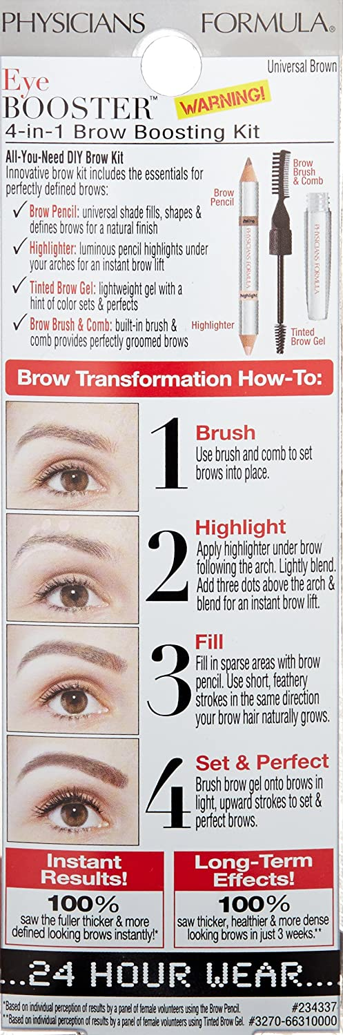 Amazon Physicians Formula Eye Booster 4 In 1 Brow Boosting Kit