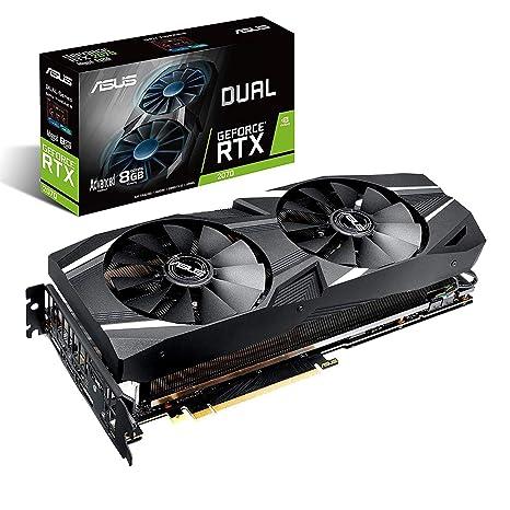 ASUS Dual -RTX2070-A8G-EVO GeForce RTX 2070 - Tarjeta ...