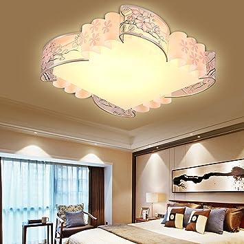 Raing Led Lámpara de Techo (Luz Tricolor) Dormitorio ...