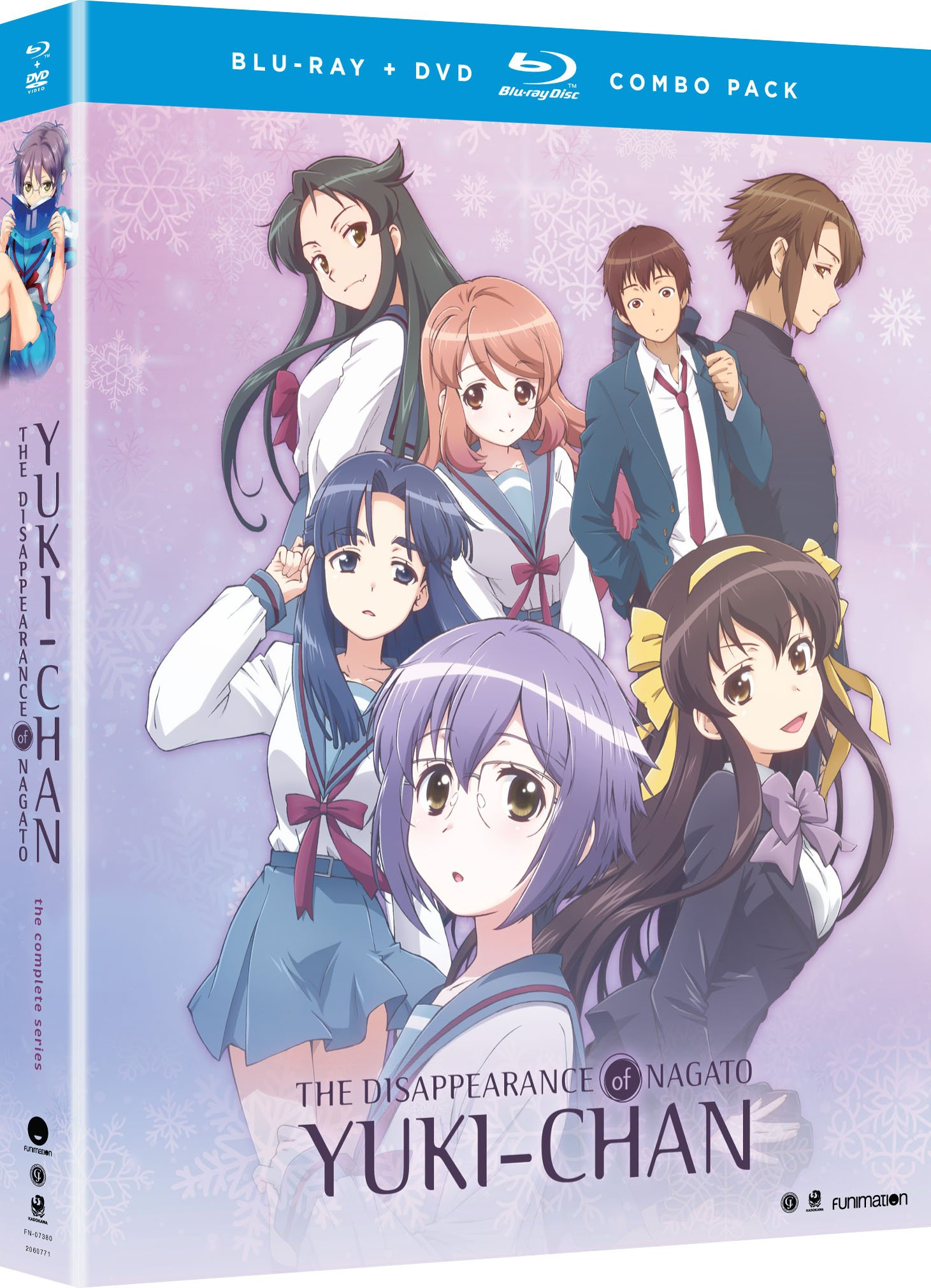 Blu-ray : The Disappearance Of Nagato Yuki-Chan: The Complete Series (With DVD, Boxed Set, 5 Disc)