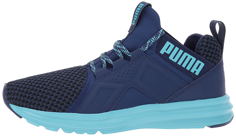 PUMA Women's Enzo Terrain Wn Sneaker B06XWW1V2X 5.5 M US|Blue Depths-nrgy Turquoise