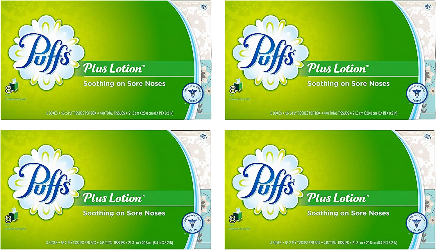 Puffs plus lotion tissues. Do visit these 23 Smart Quarantine Pantry Supplies for Social Isolation I Ordered. #quarantinesupplies #pantryitems #nonperishables
