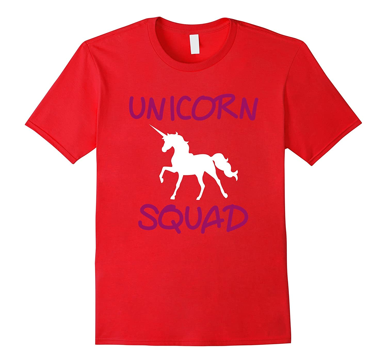 Unicorn Squad Cute Funny Unicorn t Shirt-PL