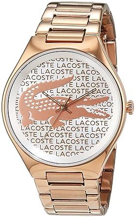 Amazon.com  Lacoste VALENCIA 2000929 Wristwatch for women Design ... 9b05e9b1f4