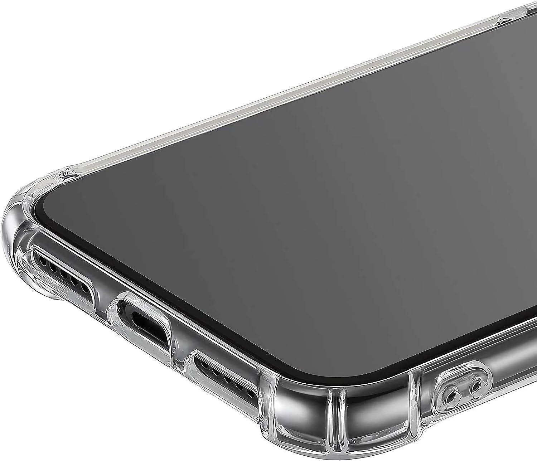 Funda para iPhone X //iPhone XS Crystal Carcasa Silicona Transparente Protector Airbag Anti-Choque Ultra-Delgado Anti-ara/ñazos Case para Tel/éfono Apple iphone X//iPhone XS Funda