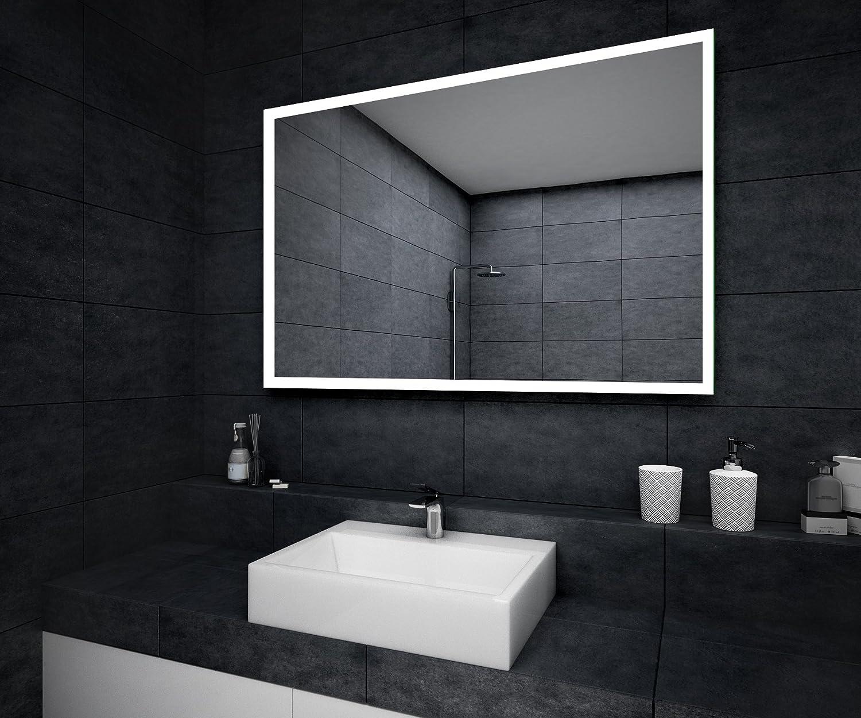 Top Design Badspiegel mit LED Beleuchtung Wandspiegel  GE38