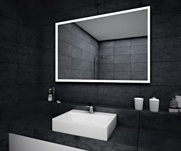 Neu Design Badspiegel mit LED Beleuchtung Wandspiegel  HV78