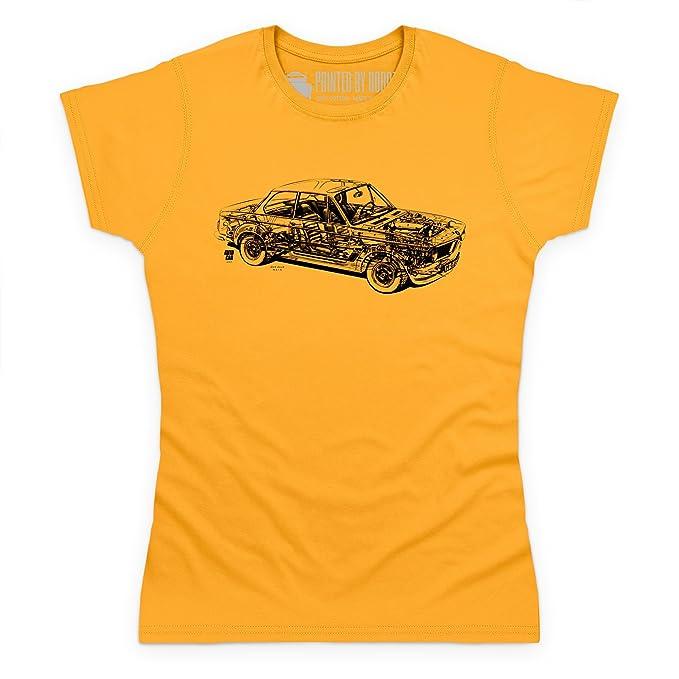 Shotdeadinthehead Bimmer 2002 Turbo Cutaway Camiseta, Para mujer: Amazon.es: Ropa y accesorios