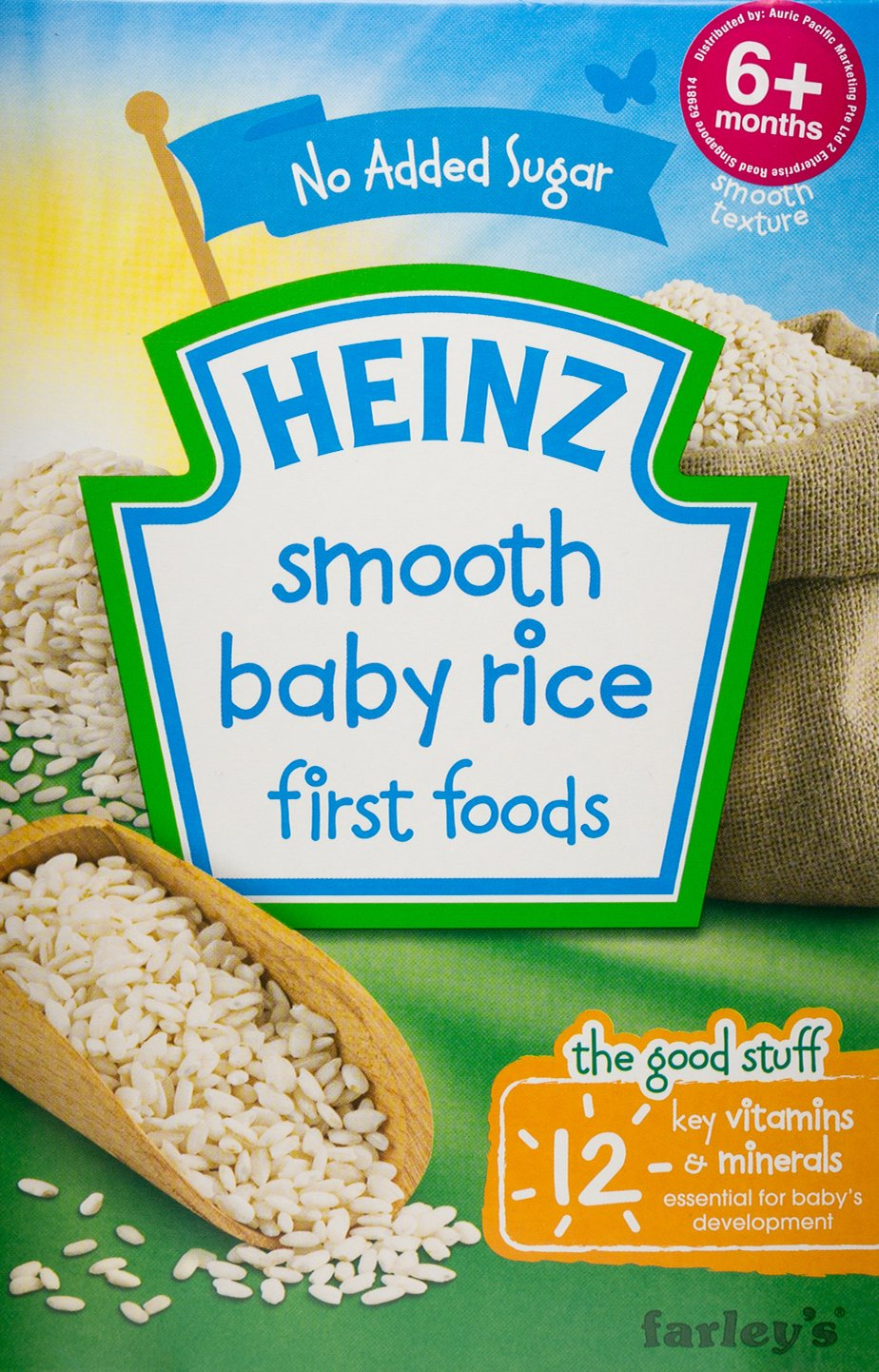 Heinz First Foods Smooth Baby Rice 4+ Months 100g