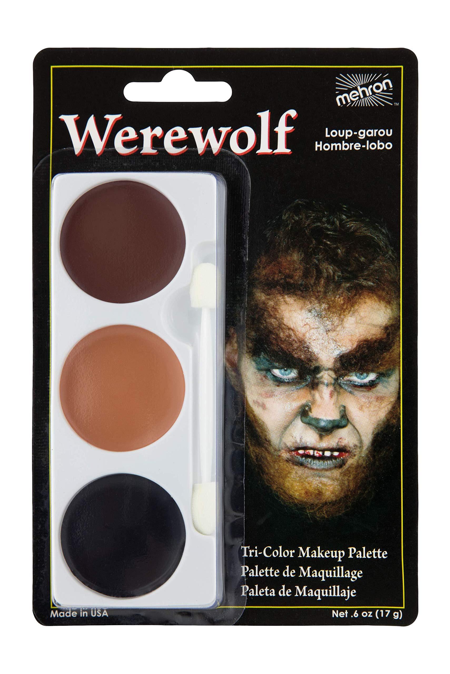 Amazon.com : Mehron Makeup Tri-Color Halloween Makeup Palette (BRUISE) : Beauty