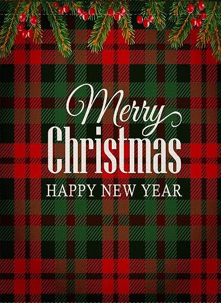 52884fd10205 Amazon.com   Dyrenson Home Decorative Merry Christmas Garden Flag ...