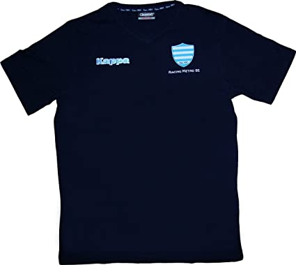 Racing Metro 92 – Camiseta oficial – Kappa Rugby Top 14 – para hombre, talla DE adulto