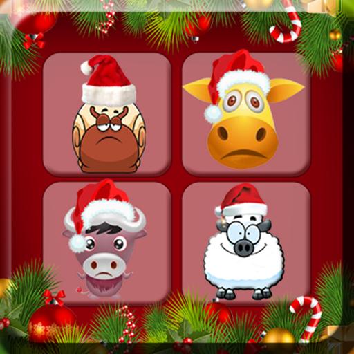 (Spot Santa Smiling Face game)