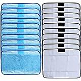 Paños de Microfibra compatibles con iRobot Braava 390t 380 380t 320(10 Húmedos y 10 Secos)