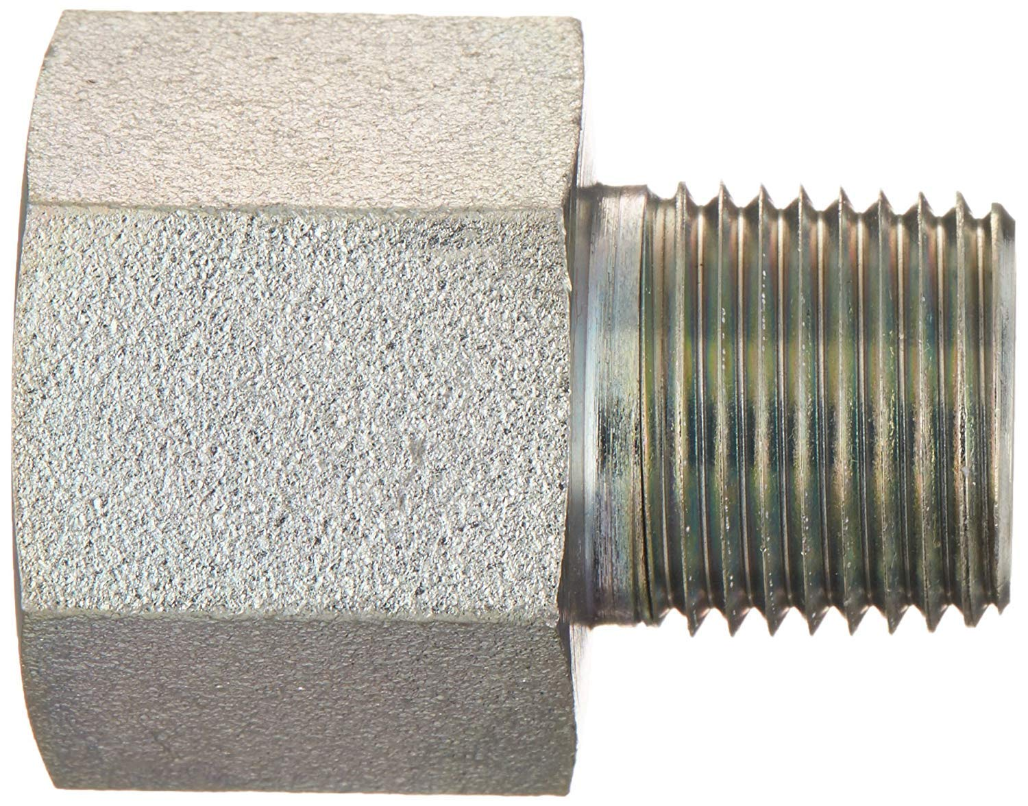6404-06-08 Hydraulic Fitting 3//8 Female BOSS X 1//2 Male Pipe Carbon Steel