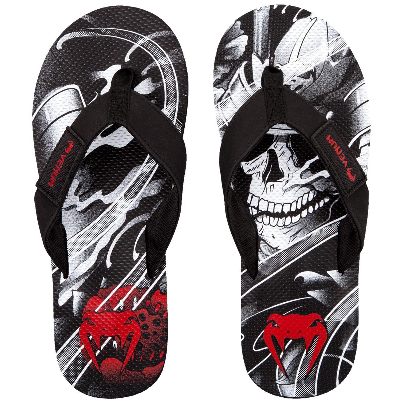 Venum Uomo Samurai Skull Flip Flop, Uomo, Samurai Skull, Nero, 38/39 VENUM-03232-001-38/39