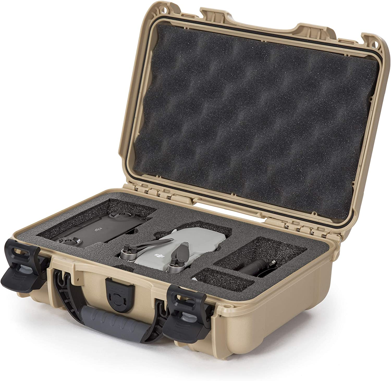 Nanuk 909 Waterproof Hard Case with Custom Insert for DJI Mavic Mini - Tan (909-MAVM0)