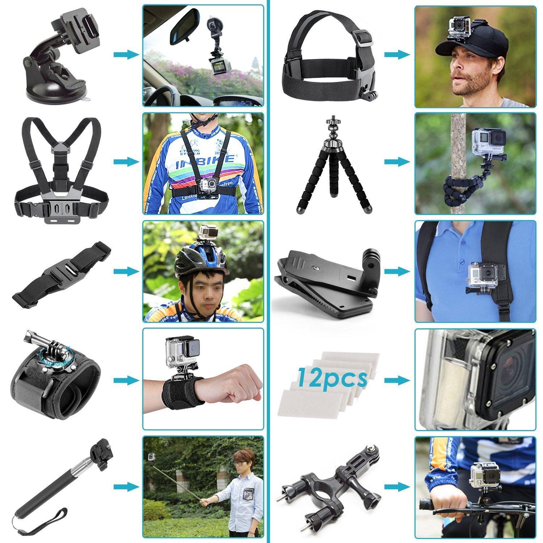 GoPro HERO8 Black Action Camera All You Need Bundle 4