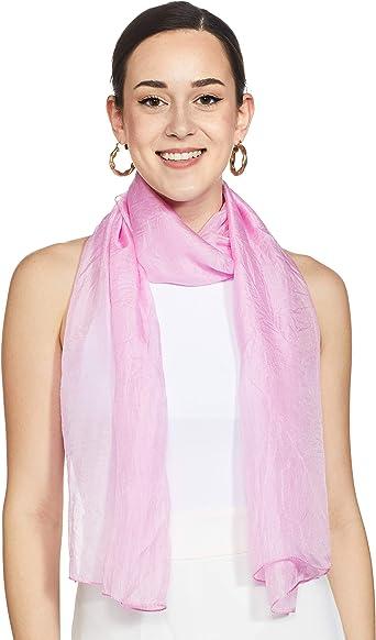 Print Pure Silk Long Scarf Summer Hair Light weight Women PareoPSCD633A